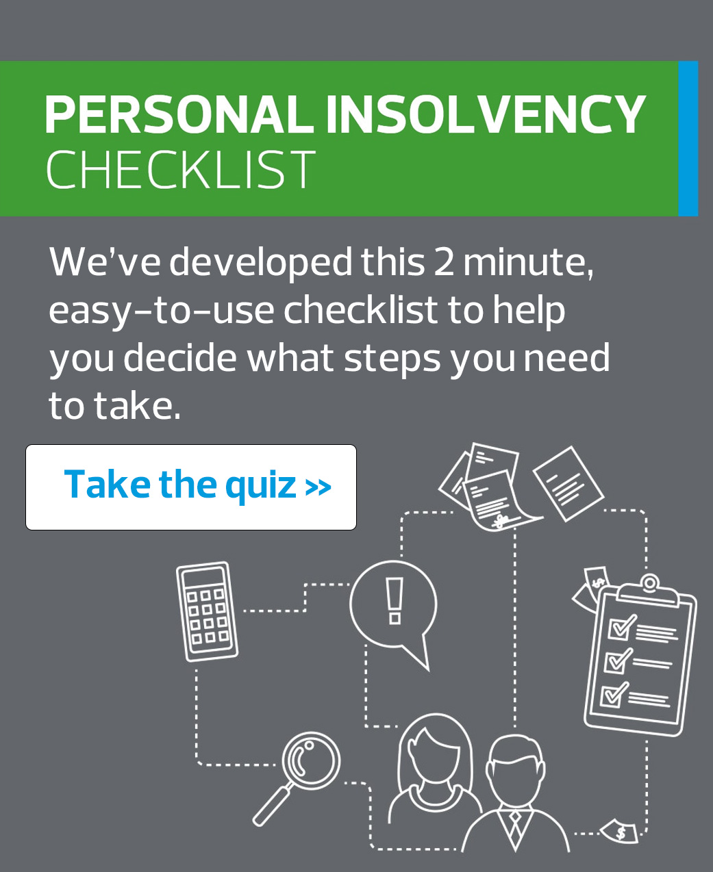 Contact a insolvency expert