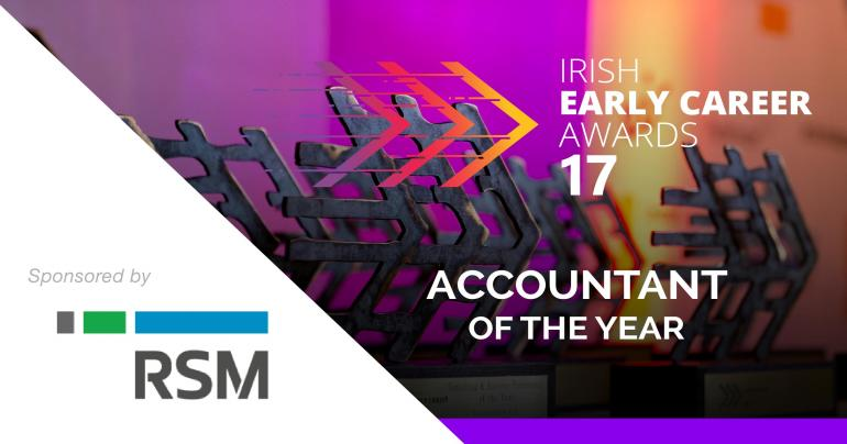 Early Career Awards, Accountant of the Year, RSM sponsorship