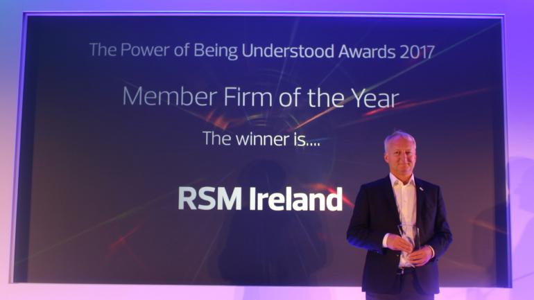Accountancy Ireland, RSM Member Firm of the Year award