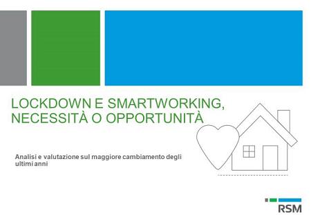 RSM_ Lockdown and smart working