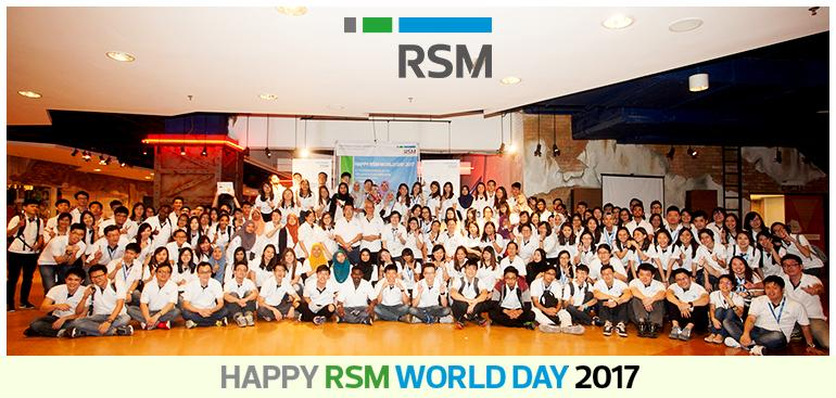RSM World Day 2017 - Team Building Challenges