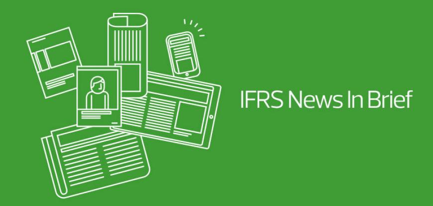 IFRS News in Brief